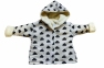 Курточка  махровая - Молочная 0