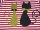 Сукня в червону полоску - Коти 2