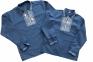 Рубашка вышитая - Джинсовая 3
