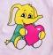 Бодик -Слоник  розовый 1