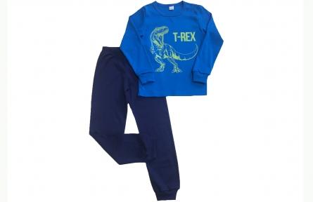 Піжама - T-Rex синя