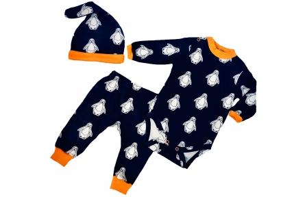 Комплект з боді та штанами - Пінгвінчики