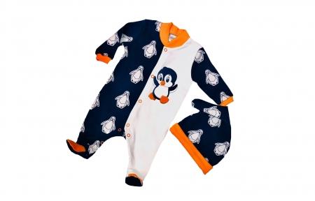 Комплект з чоловічком - Пінгвінчики