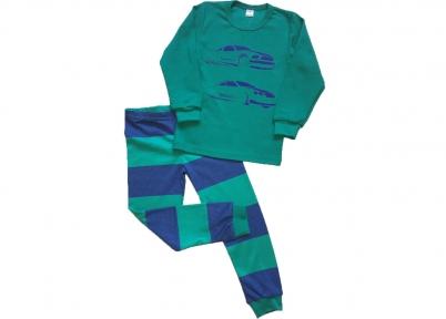 Піжама зелена- Машини