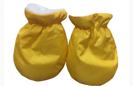 Варежки - Желтые