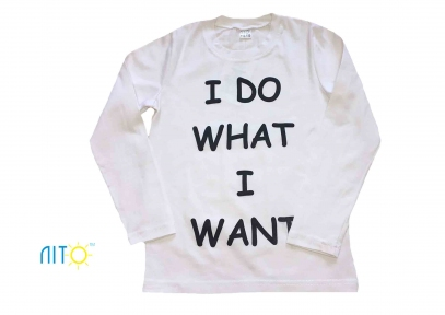Реглан белый - Я делаю то, что хочу