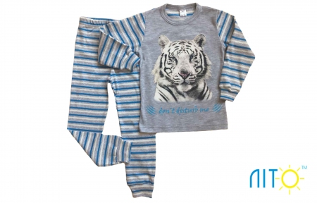 Піжама - Тигр голуба полоска