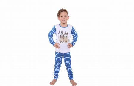Пижама синяя - Хаски