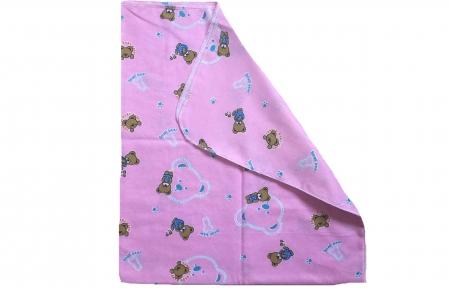 Пеленка рожева байкова - Ведмедики