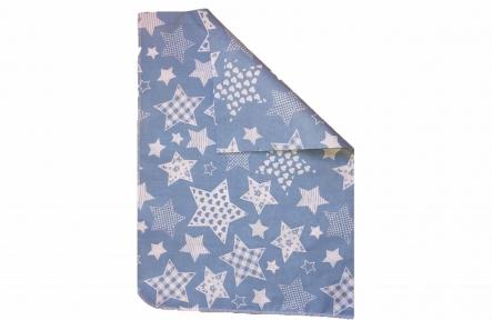 Пеленка ситец - Звезды голубая
