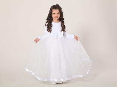Платье праздничное - Белое