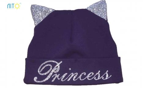 Шапка фіолетова - Princess