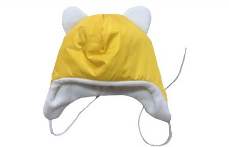 Шапка теплая - Желтая