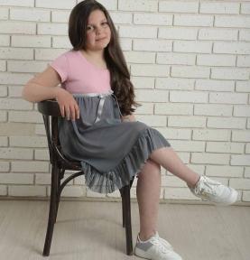 Сукня - Серце рожеве