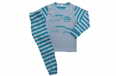 Пижама морская волна - Машины
