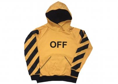 Худі - OFF жовтий
