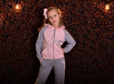 Спортивний костюм Модна дівчина