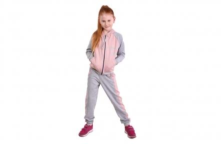 Спортивный костюм - Модная девочка пудра