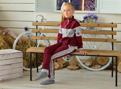 Спортивний костюм  COOL GIRL, бордовий