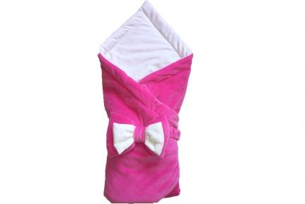 Плед утепленный - Розовый