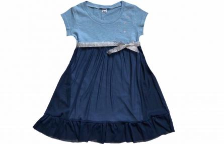 Платье - Звезды голубое