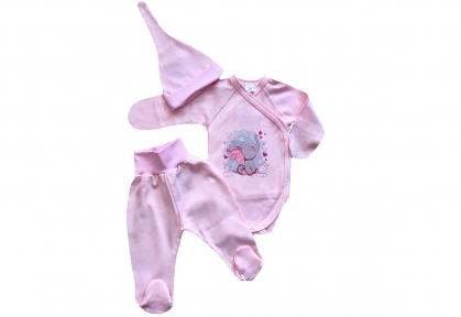 Набір рожевий - Слоненя