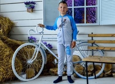 Спортивный костюм бирюза - Мотобайк
