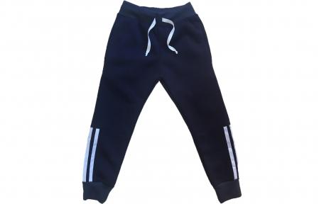 Спортивные штаны - Синие утепленные