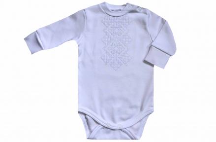Боди - Белая вышивка