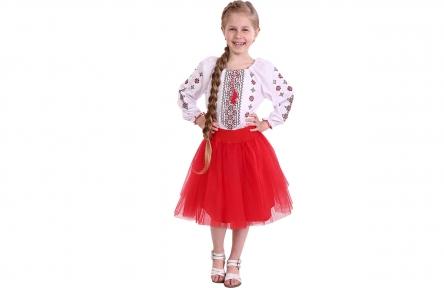 Сорочка -  Орнамент червона вишивка