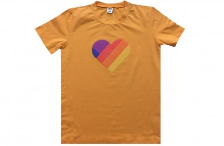 Футболка оранжевая - Лайк