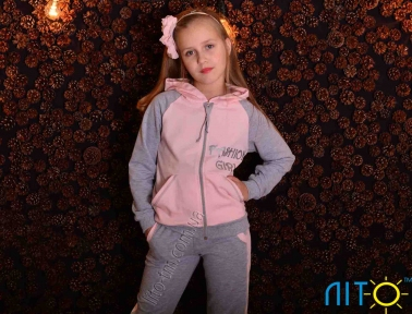 Спортивний костюм - Модна дівчина