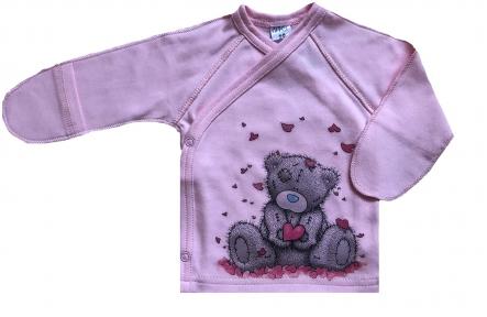 Распашонка - Тедди розовая