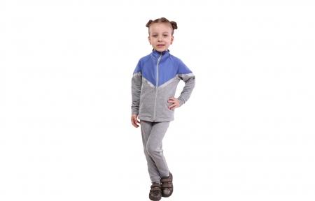Спортивний костюм - Фіолетовий з сірим