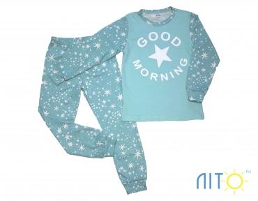 Пижама - Доброе утро ментоловая