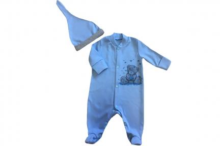 Комплект синий - Тедди
