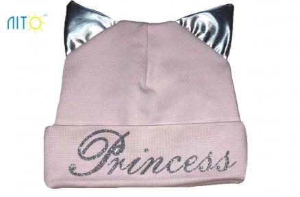 Шапка пудровая - Princess