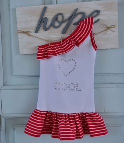 Платье -туника Кул сердце