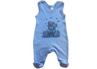 Ползунки голубые- Тедди