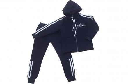 Спортивный костюм - Синий утепленный