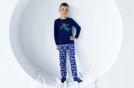 Пижама синяя - Футбол