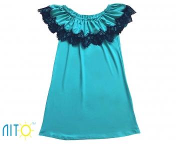 Платье - Ментоловое