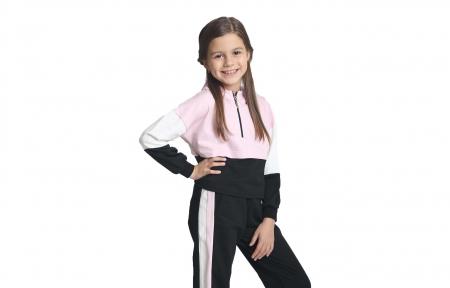 Спортивний костюм - Рожевий з чорним