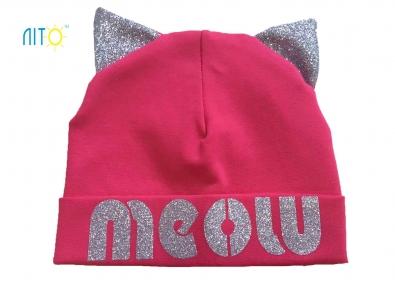 Шапка коралова - Meow