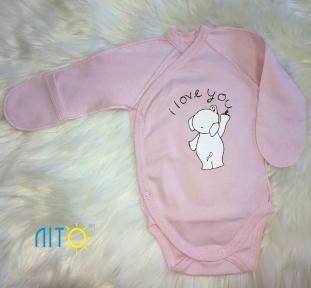 Бодік рожевий - Слон - Бодіки 876e1223af290