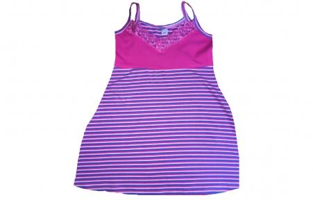 Нічна сорочка - Синя полоска
