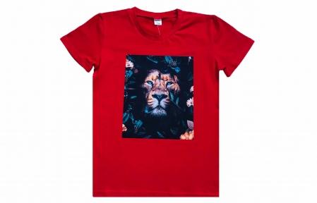 Футболка - Тигр красная