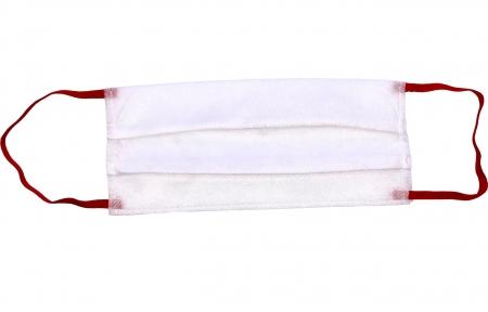 Маска защитная - Белая с красным