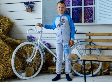 Спортивний костюм бірюза - Мотобайк