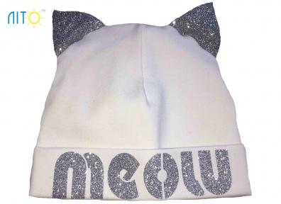 Шапка молочнаz - Meow